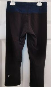 2/75$ lululemon reversible Capris pants